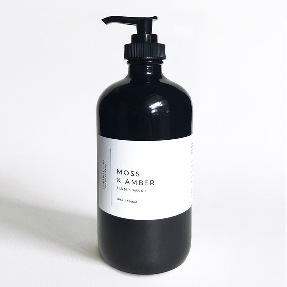 Lightwell Co. Moss & Amber Hand Wash