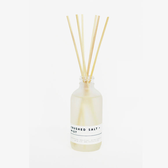 True Hue Crushed Salt + Mist Reed Diffuser