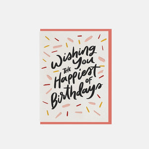 Happiests of Birthdays Card