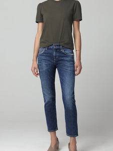 Elsa Mid Rise Slim Fit Crop New Moon | Citizens of Humanity