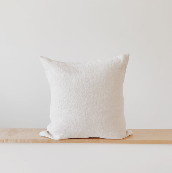 Belgium Linen Pillow Cover