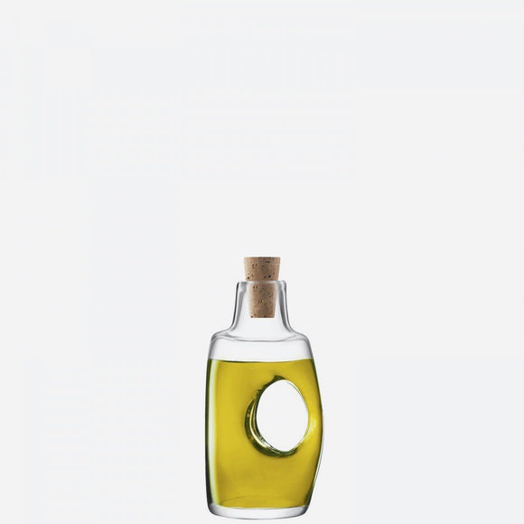 Void Oil/Vinegar Bottle & Cork Stopper