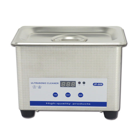 0.8L Professional Digital Ultrasonic Cleaner Machine with Timer Heated Stainless steel Cleaning tank 110V / 220V - Mega Save Wholesale & Retail
