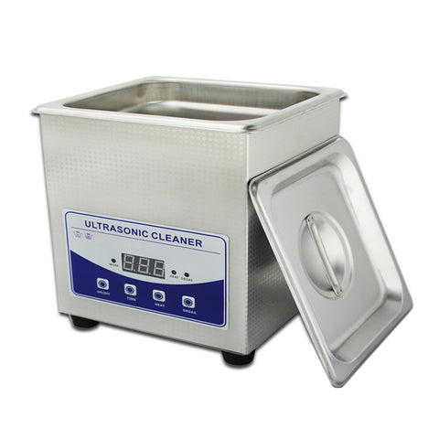 1.3L Professional Digital Ultrasonic Cleaner Machine with Timer Heated  Stainless steel Cleaning tank 110V 220V - Mega Save Wholesale & Retail