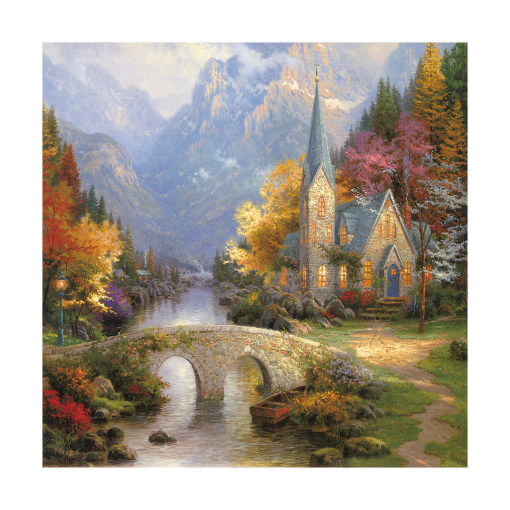 European and American scenery Thomas cattle decoration painting bulk villa hang painting hotel oil painting    01 - Mega Save Wholesale & Retail - 1