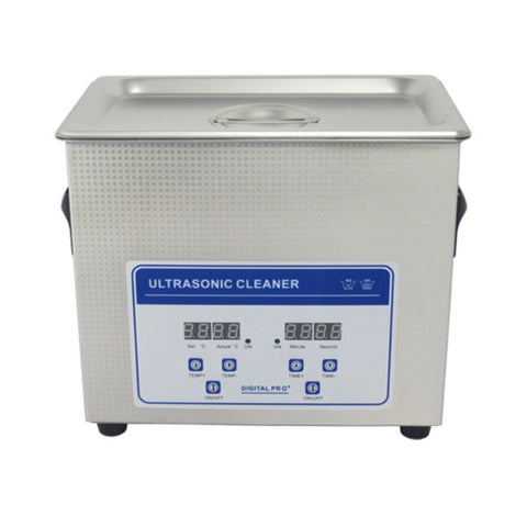 3.2L Professional Digital Ultrasonic Cleaner Machine with Timer Heated  Stainless steel Cleaning tank 110V/220V - Mega Save Wholesale & Retail