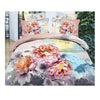 3D Queen King Size Bed Quilt/Duvet Sheet Cover Cotton reactive printing 4pcs  11 - Mega Save Wholesale & Retail