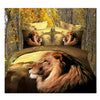 3D Queen King Size Bed Quilt/Duvet Sheet Cover Cotton reactive printing 4pcs  21 - Mega Save Wholesale & Retail