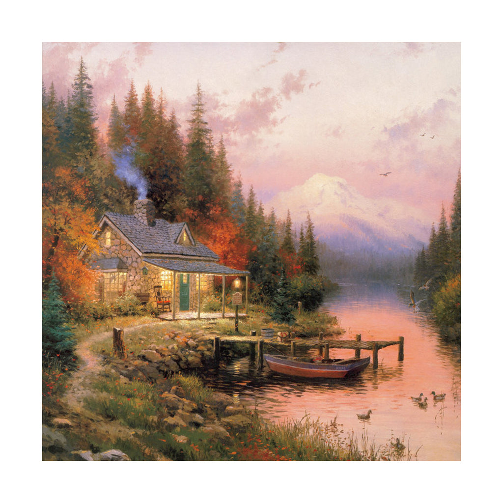 European and American scenery Thomas cattle decoration painting bulk villa hang painting hotel oil painting    03 - Mega Save Wholesale & Retail - 1