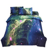 Starry Sky Home Textiles Beding 3D 4 pcs Beding Quilt Cover Flat Sheet Pillow Case x2   04 - Mega Save Wholesale & Retail