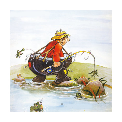 abstract cartoon scenery wall painting decoration printing hang painting children's room without frame   05 - Mega Save Wholesale & Retail - 1