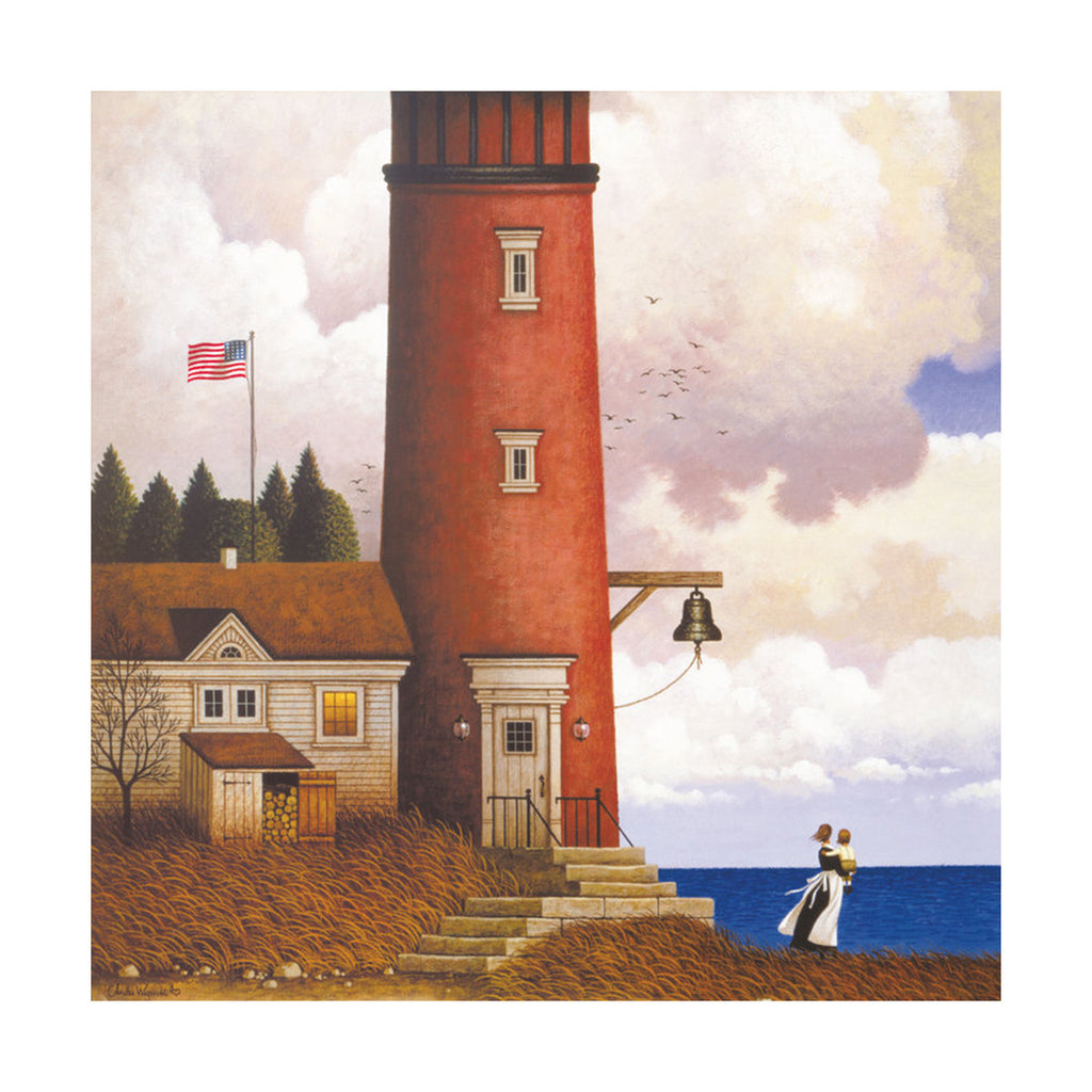 decoration painting bulk simple lighthouse American small town without frame cotton for painting wall painting 07 - Mega Save Wholesale & Retail - 1