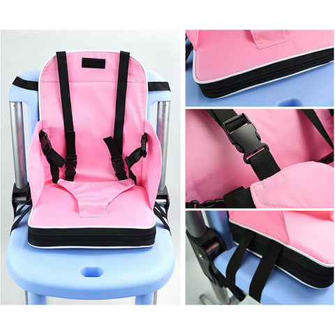 Baby Toddler Booster Seat Travel Dining Feeding High Chair Portable Foldable - Mega Save Wholesale & Retail - 1