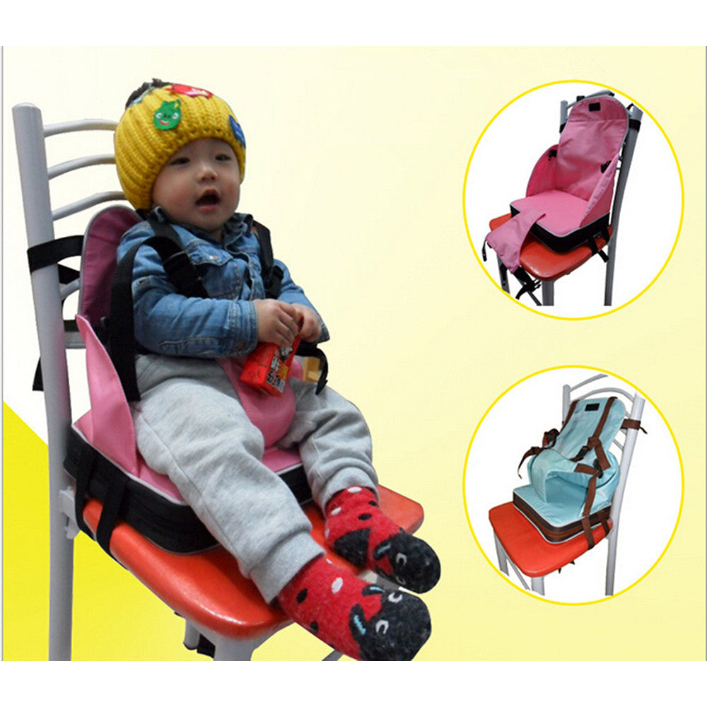 Baby Toddler Booster Seat Travel Dining Feeding High Chair Portable Foldable - Mega Save Wholesale & Retail - 5