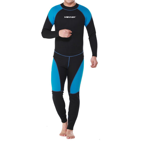 1.5mm Man Long Sleeve Wet Type Diving Suit Wetsuit - Mega Save Wholesale & Retail - 1