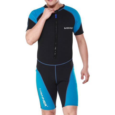 1.5mm Man Short Sleeve Wet Type Diving Suit Wetsuit - Mega Save Wholesale & Retail - 1