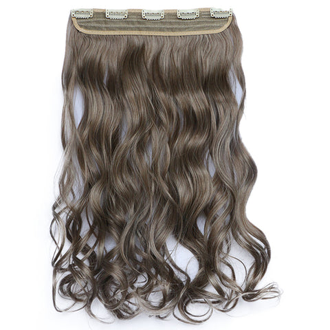 120g One Piece 5 Cards Hair Extension Wig     10/613