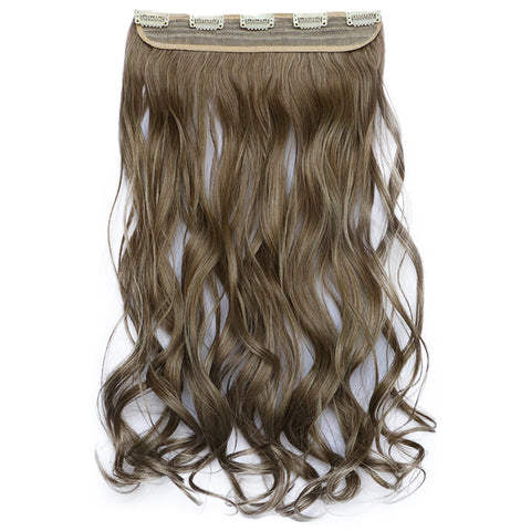 120g One Piece 5 Cards Hair Extension Wig     10/86