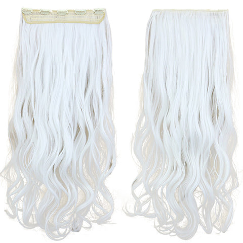 120g One Piece 5 Cards Hair Extension Wig     1001