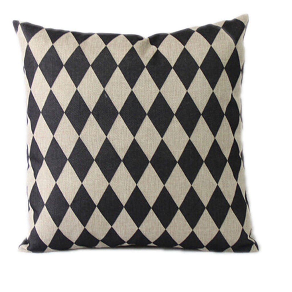 Linen Decorative Throw Pillow case Cushion Cover  104 - Mega Save Wholesale & Retail