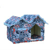 T pet supplies wholesale high-end network-wide unique house cat kennel Double Top multi-purpose room warm pet nest Green - Mega Save Wholesale & Retail - 3