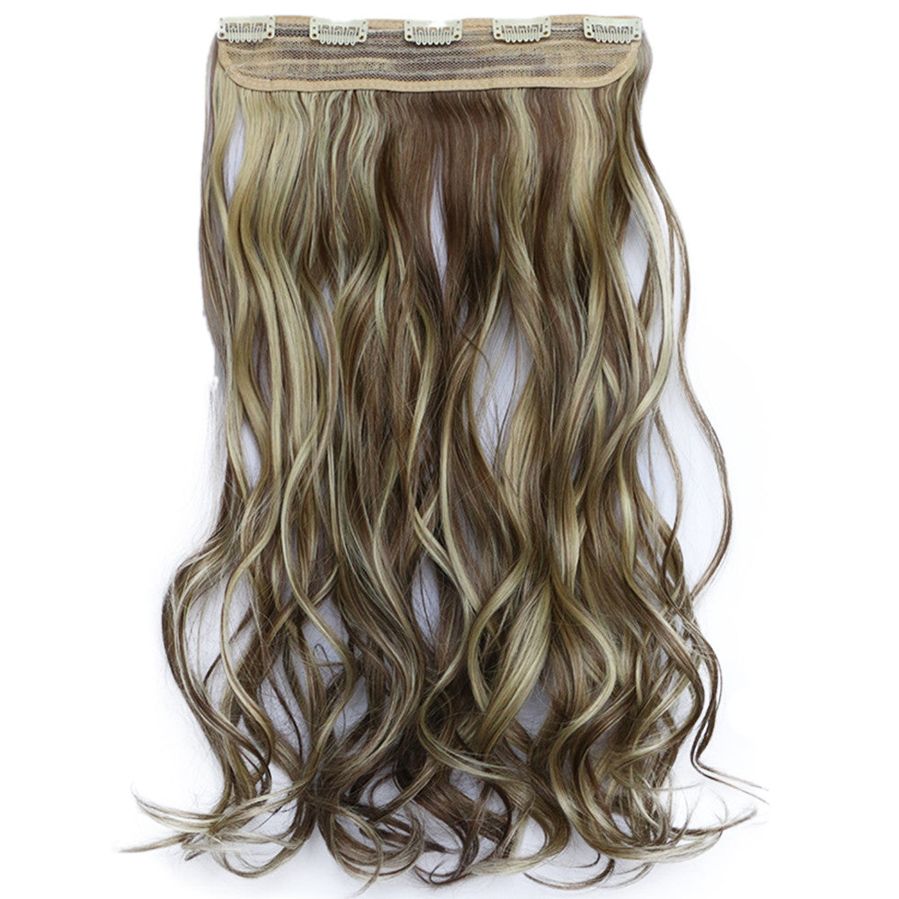 120g One Piece 5 Cards Hair Extension Wig     10H86