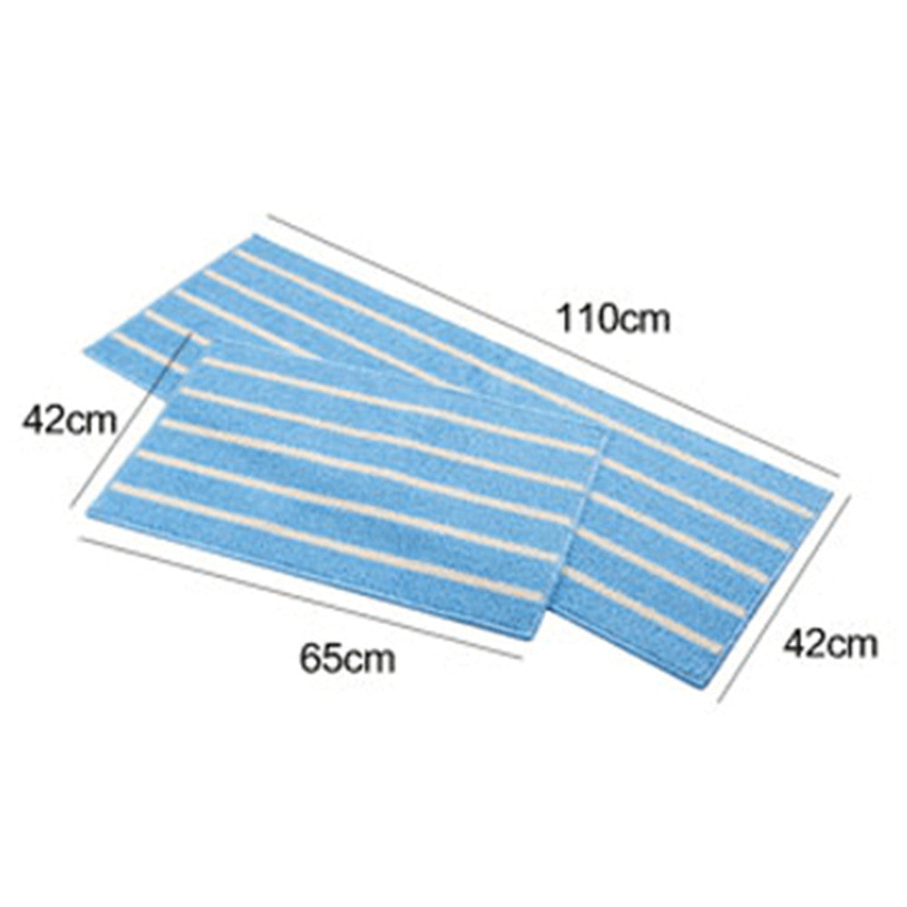 Simple Stripe Long Ground Floor Door Mat Carpet 43x65cm blue - Mega Save Wholesale & Retail - 2