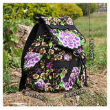 Spring Festival's Gift Yunnan Fashionable National Style Embroidery Bag Stylish Featured Shoulders Bag 93048   peony flower with random color - Mega Save Wholesale & Retail - 4