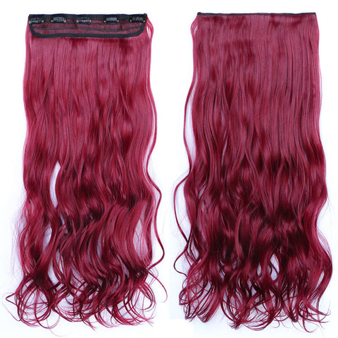 120g One Piece 5 Cards Hair Extension Wig     118C