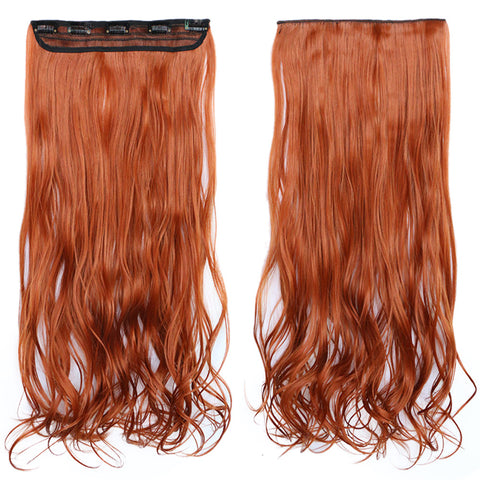 120g One Piece 5 Cards Hair Extension Wig     119