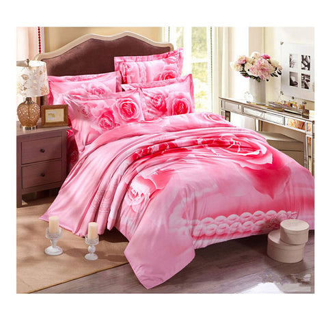 Cotton Active floral printing Quilt Duvet Sheet Cover Sets 2.0M/2.2M Size 11 - Mega Save Wholesale & Retail