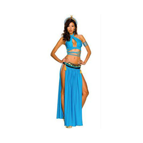 Ancient Egypt Feature Court Garment Cosplay Game Stage Costume Uniform - Mega Save Wholesale & Retail