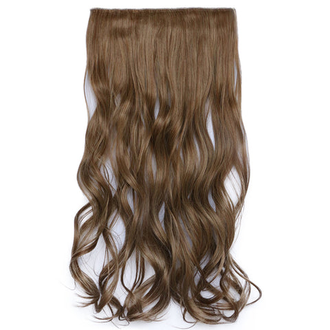 120g One Piece 5 Cards Hair Extension Wig     12/24