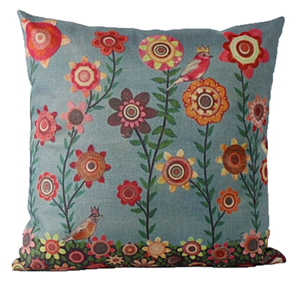 Linen Decorative Throw Pillow case Cushion Cover  127 - Mega Save Wholesale & Retail