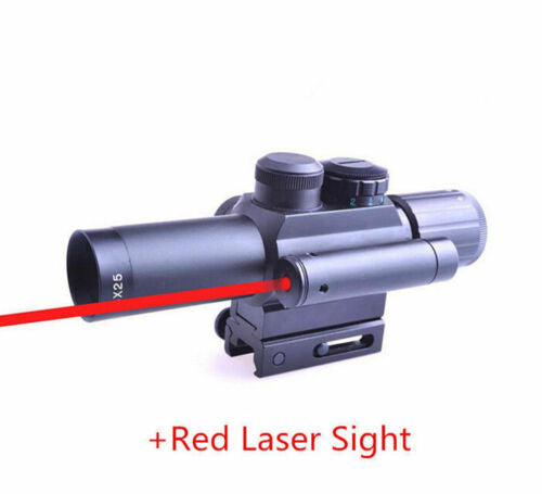 4*25 M6 Crosshair Tactical Optics Hunting Gun Riflescope Air Rifle Scope