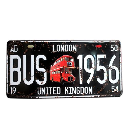 America Vintage Car Plate Wall Hanging Decoration   4