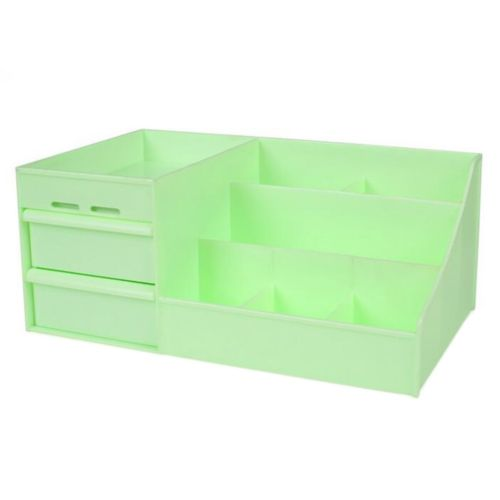 Drawer Type Organizer Comestics Sotrage Box   3014 S green