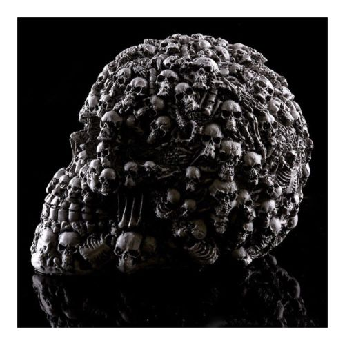 Indoor Furnish Resin Skull Human Skeleton Statue Halloween Tricky Toys