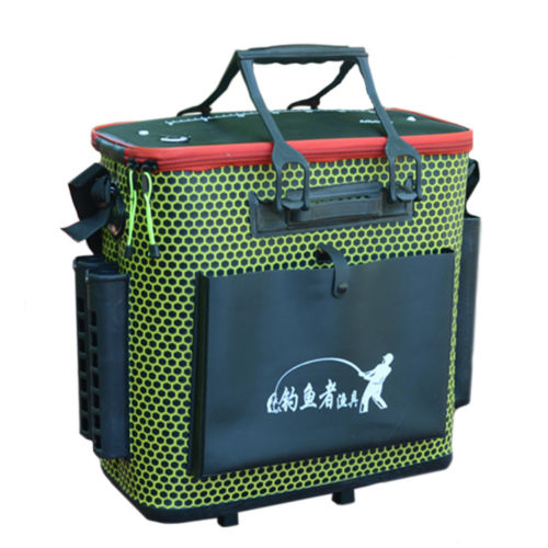 EVA box with fishing rod fish care package fishing gear bucket