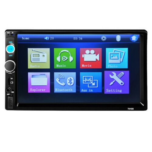 "7010B 7"" Car Stereo Radio 2 DIN FM MP5 Player with USB"