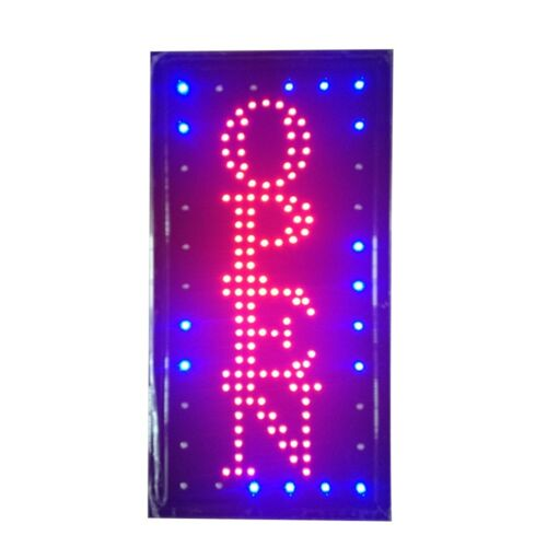Neon Lights LED Animated Open Customers Attractive Sign Store Shop Sign 110V