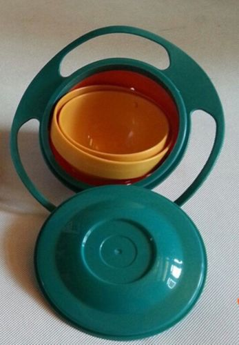 Baby Toddlers Babies Anti-Spill Gravity Feeding Bowls