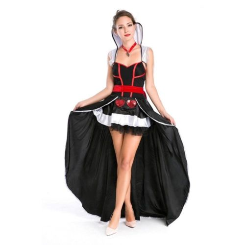 Halloween Garment Allure Pole Dance Dress Bar Night Club Costume European Queen