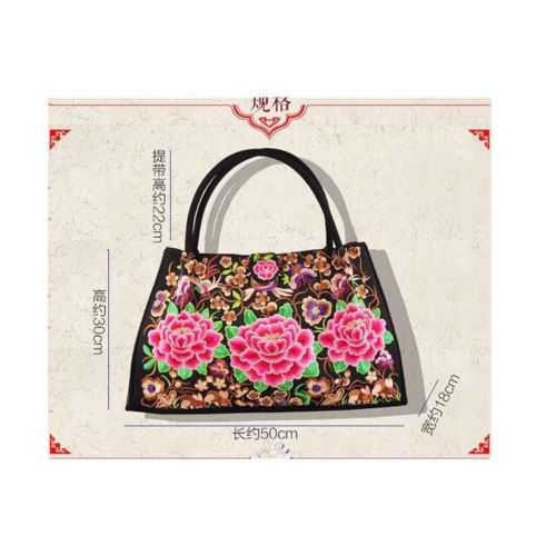 Bohemian Woman's Bag National Style Embroidery Single-shoulder Bag Embroidery Ha
