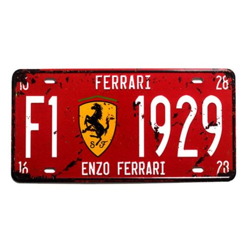 America Europe France Car Plate Bar KTV Wall Hanging Decoration   4