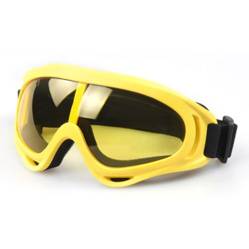 Sports Googles Glasses Riding Windproof XA-030    yellow