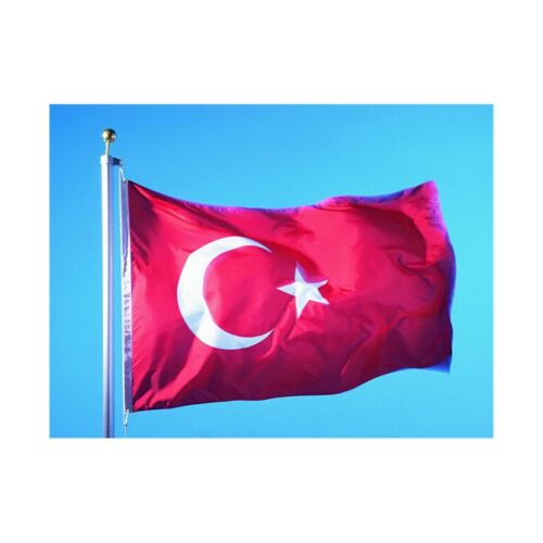 90 * 150 cm flag Various countries in the world Polyester banner flag     Turkey