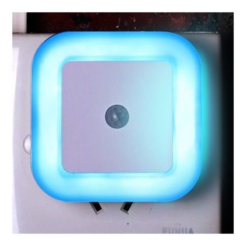 LED Body Induction Sensor Controlled Night Light ABS    Blue