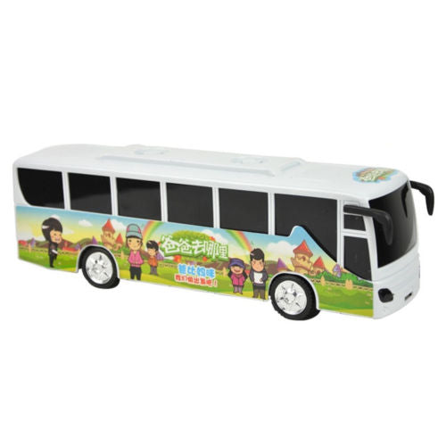Explosion paragraph children glow universal music bus car educational toys