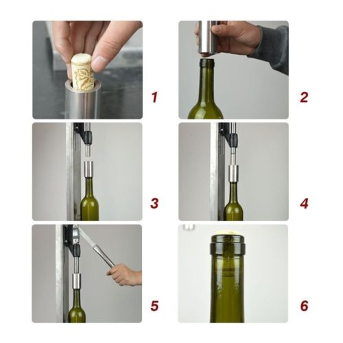Manual Bottle Corking Machine Home Brew Wine Bottle Cap Pressing Machine 2 POM h